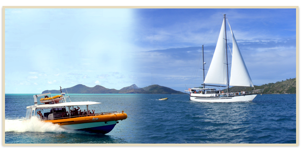 whitsunday's power & sail combo package